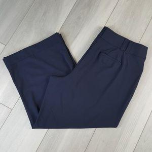 Lane Bryant The Allie Wide Leg Pants 22 / 24 Short